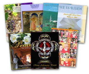A sample of covers from Pilot Bulletins parishes